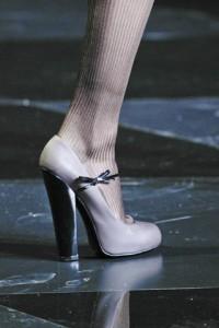 Détail du défilé Louis Vuitton Automne/hiver 2011-2012