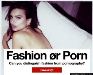Le porno chic : Toxique esthétique