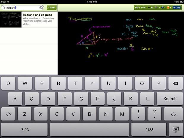 La plateforme gratuite Khan Academy publie en ligne des milliers de leçons vidéos pédagogiques. Les enseignants français commencent à s'emparer du phénomène.