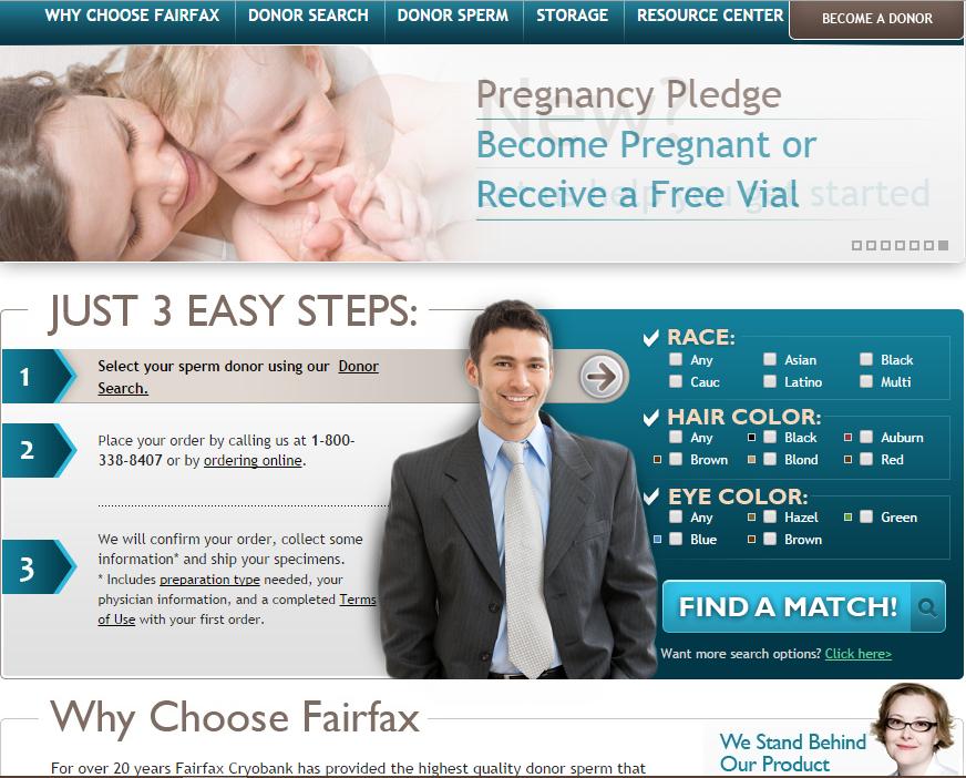 Choisir son bébé sur Fairfax