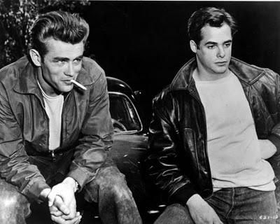 James Dean & Corey Allen, Fureur de vivre (Rebel Without a Cause), 1955