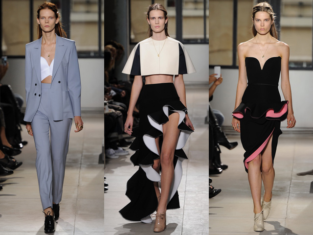 Balenciaga collection printemps-été 2013