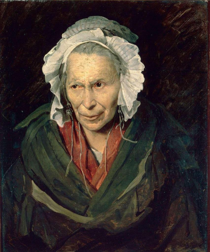 Théodore Géricault, La folle monomane de l'envie, 1819-1821