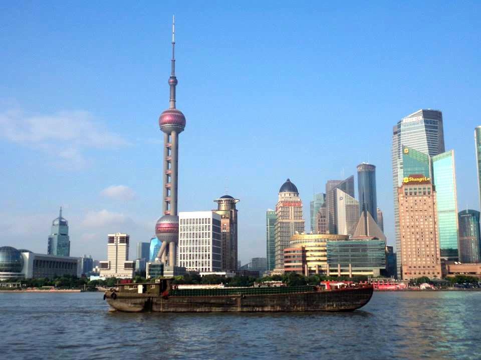 La vue sur Pudong !