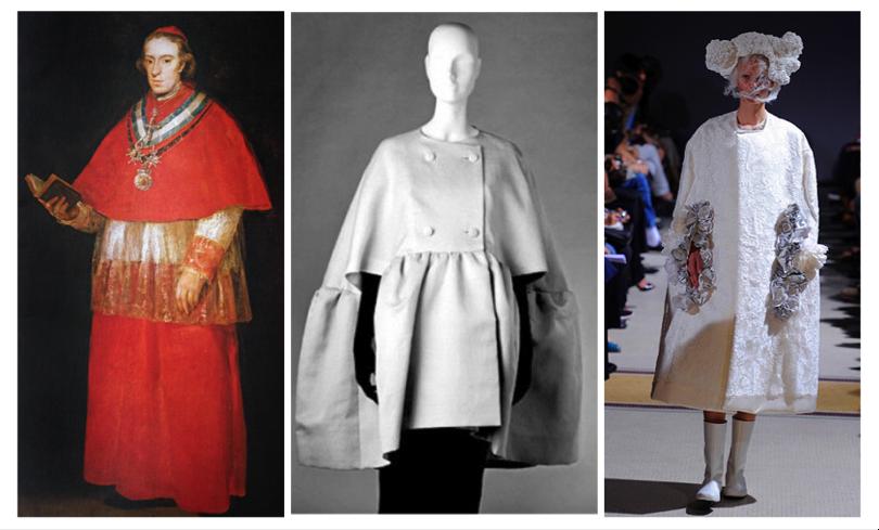 Inspiration de Balenciaga, Balenciaga années 1960, Comme des garçons 2012