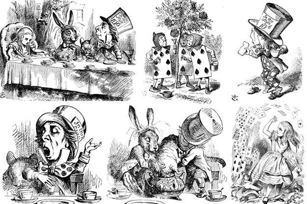 Alice au pays des merveilles Cartoon porn