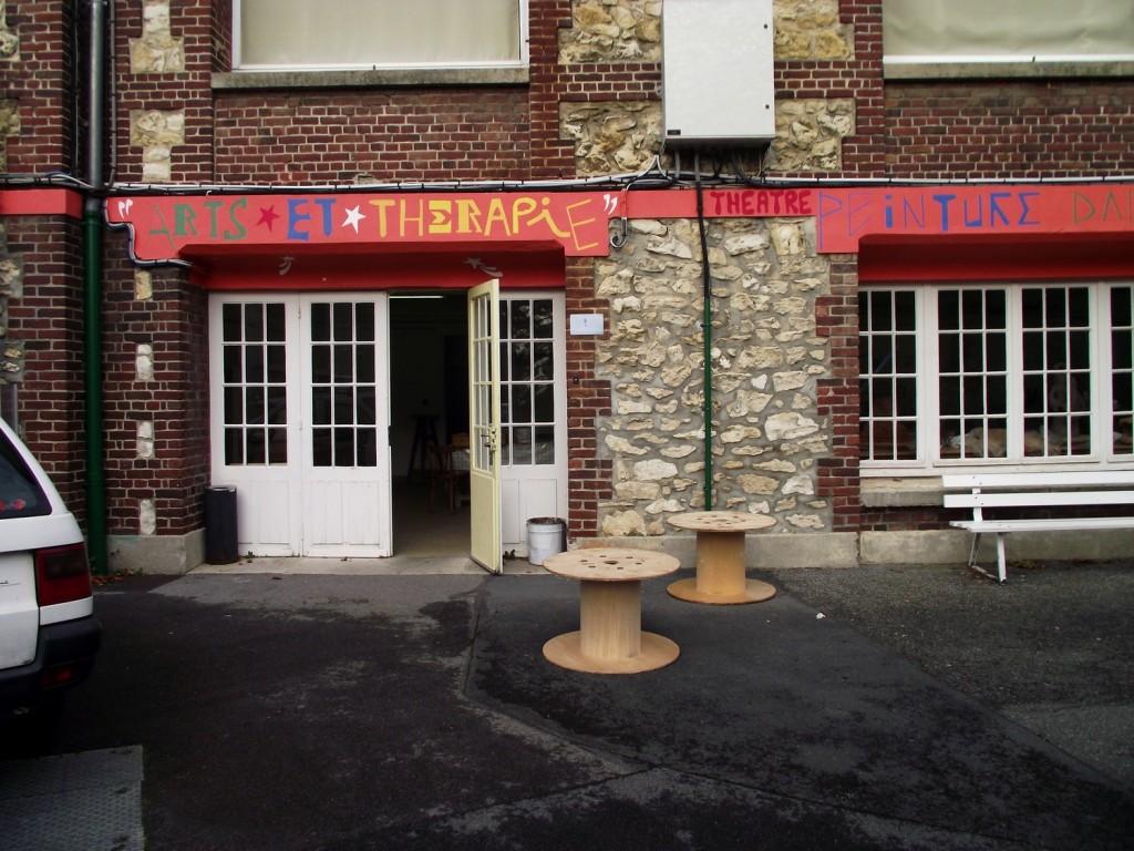 atelier art-thérapie du C.H.S. de Clermont