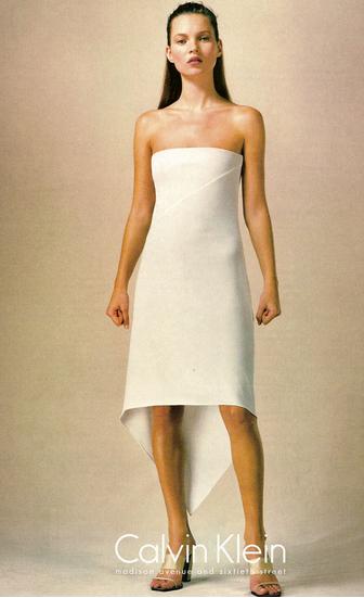 Calvin Klein, campagne publicitaire années 90
