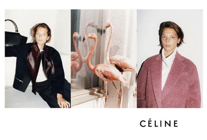 Céline, ad campaign winter 2012