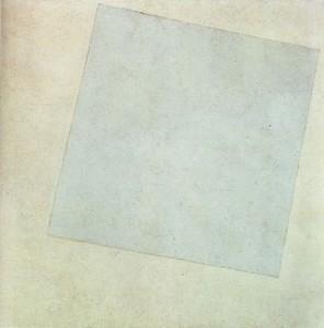 Carré blanc sur fond blanc, Malevitch