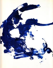 Anthropométrie sans titre (ANT 130), mars 1960, 194 x 128 cm.