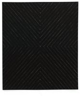 Frank Stella, Zambezi, 1959, émail sur toile, 230.5 x 200 cm