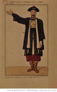 Costume de Sarrazin dans l'Orphelin de la Chine