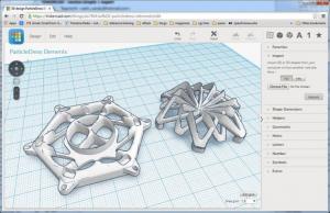 Le design virtuel des particules est entre vos mains après téléchargement de ce fichier sur instructables.com.