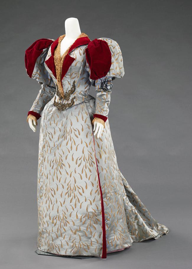 Evening Dress, Charles Frederick Worth (1893)