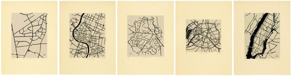 Cities I Called Home © Zarina Hashmi. Courtesy Galerie Jaeger Bucher / Jeanne-Bucher, Paris.