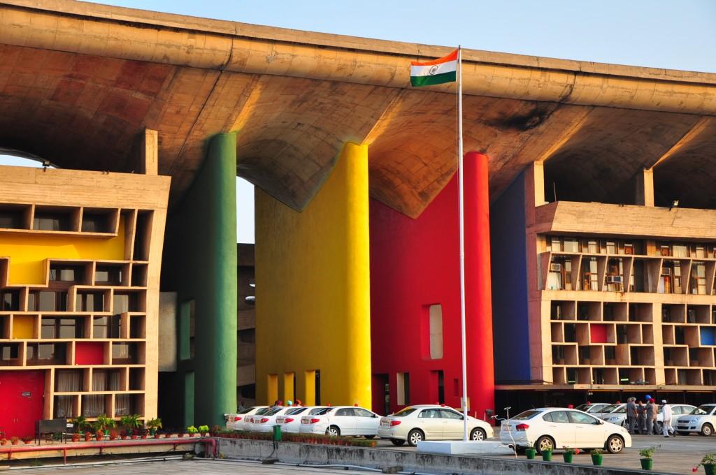 Chandigarh, la cité moderniste. Photo : Carolyn O'Donnell