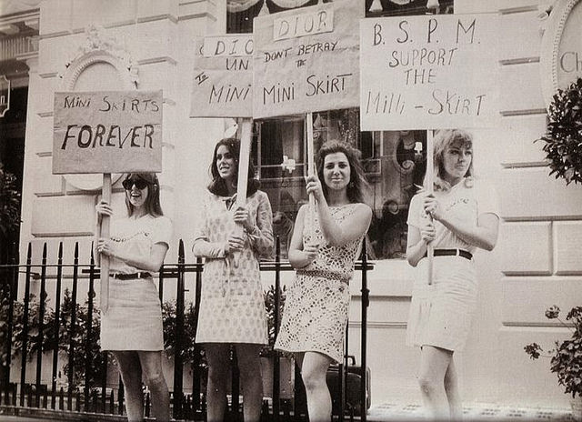 La mini jupe, un combat des sixties