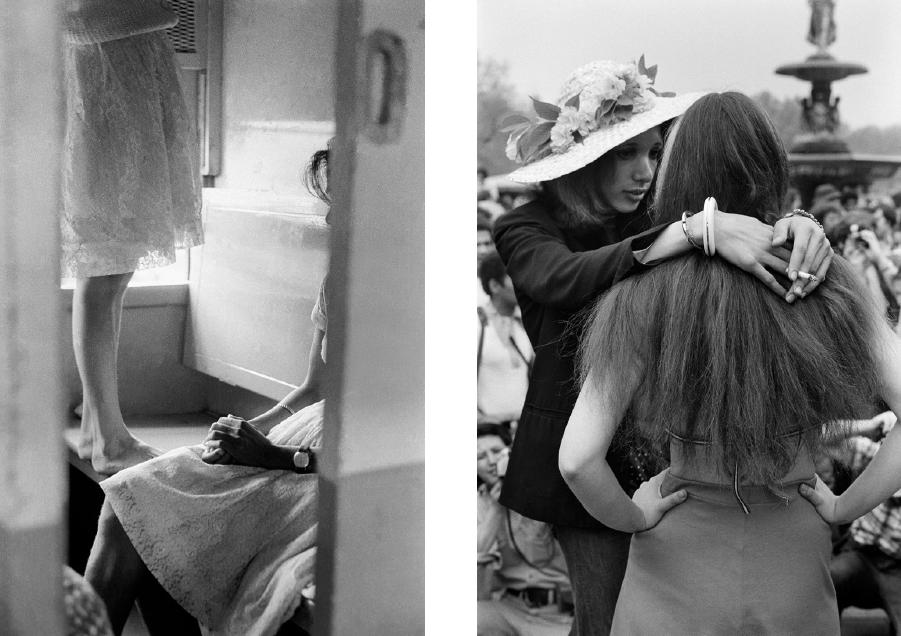 Inde, 1969 & New York, 1972. © Pierre de Fenoÿl