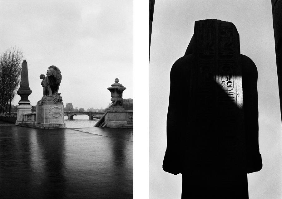 Sans titre, Paris, 1978 & Sans titre, Égypte, 1983-1984. © Pierre de Fenoÿl