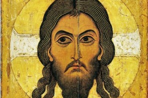 Sainte-Face de Novgorod, c. 1100, tempera sur bois
