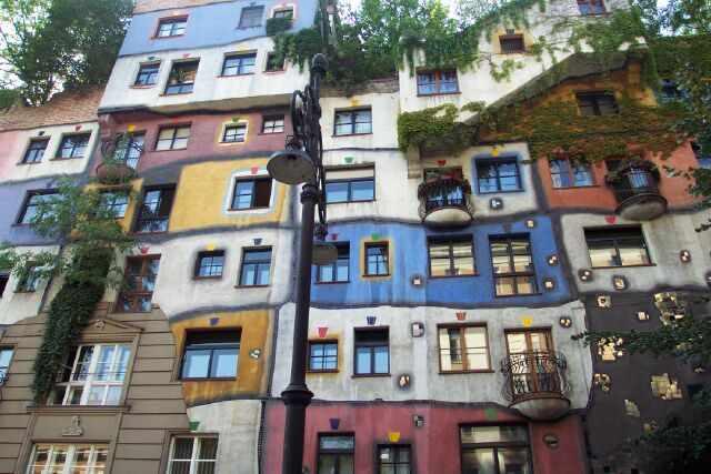 Maison de Hundertwasser - Vienne