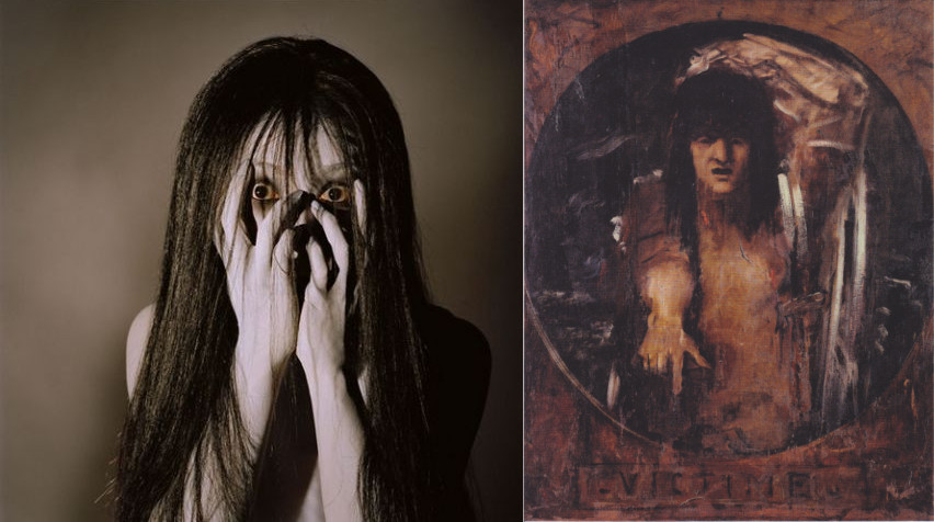 The Grudge / Gustave Moreau - Victime