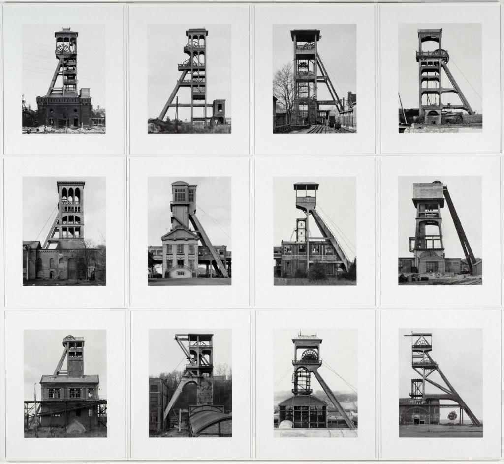 Bernd et Hilla Becher, Tours d'extraction, 1970-1988 Collections du CAPC - Musée d'art contemporain, Bordeaux