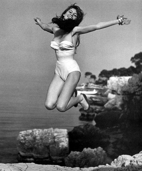 Brigitte Bardot – © Philippe Halsman