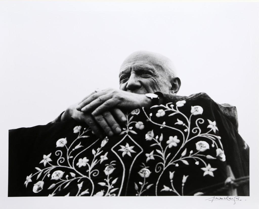 Lucien Clergue, Picasso, président de la corrida, Fréjus, 1962 © Atelier Lucien Clergue © Succession Picasso 2015