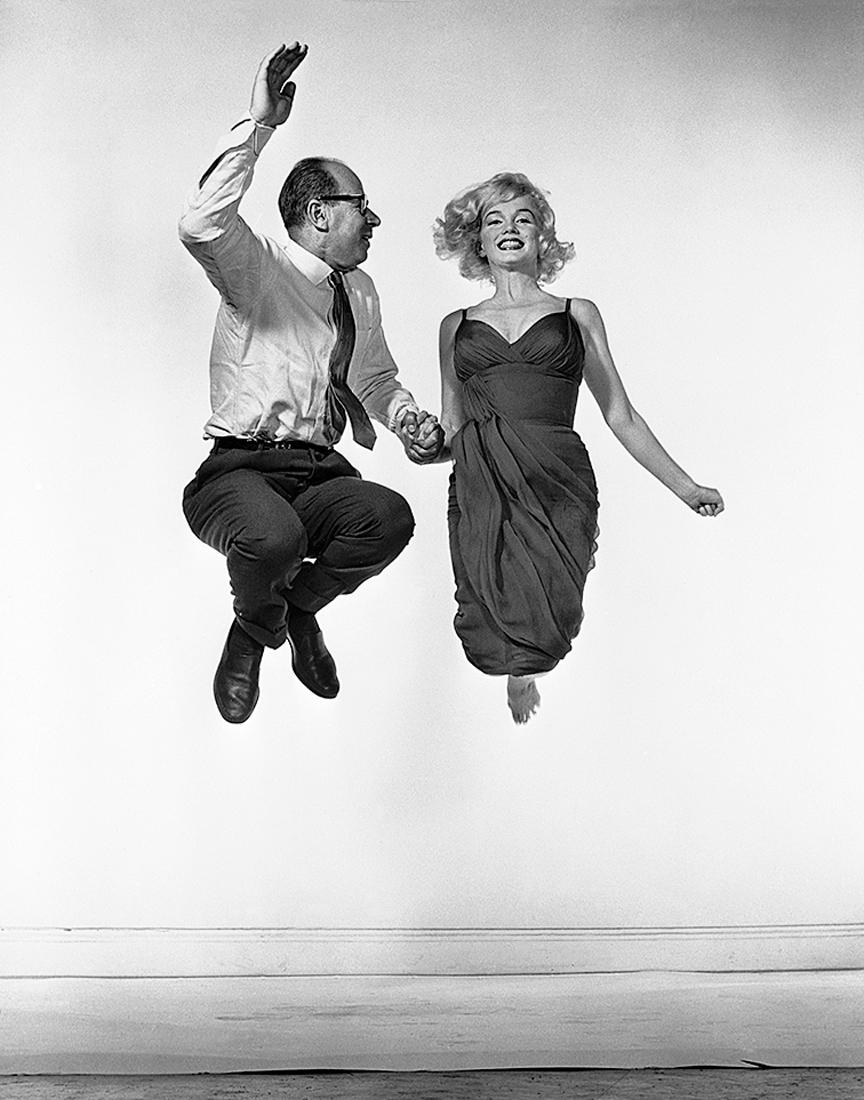 Yvonne Halsman, Marilyn Monroe et Philippe Halsman, 1959. Archives Philippe Halsman. © 2015 Philippe Halsman Archive / Magnum Photos. Source : http://www.jeudepaume.org/?page=article&idArt=2210
