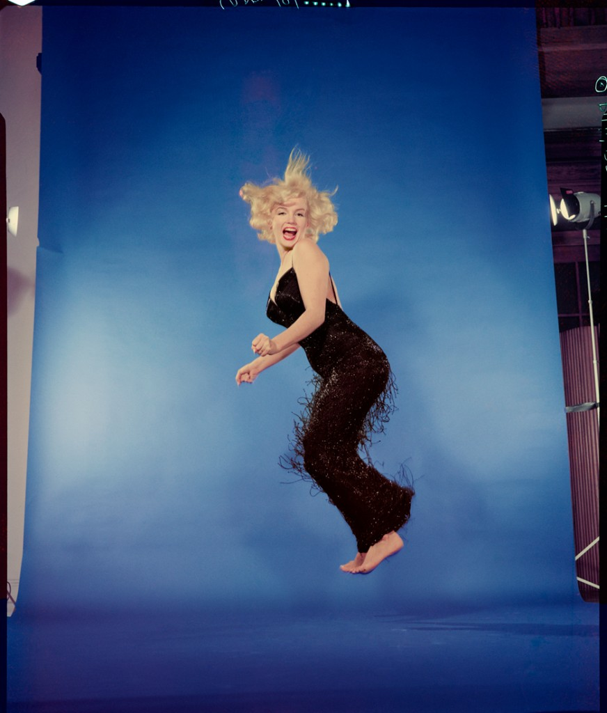 Philippe Halsman, Marilyn Monroe, 1959 Musée de l'Elysée. © 2015 Philippe Halsman Archive / Magnum Photos Source