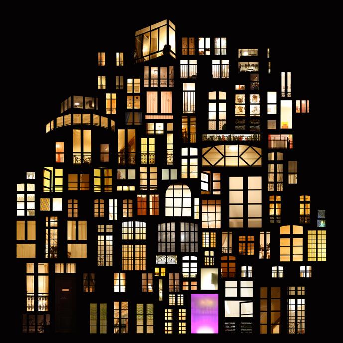 Anne-Laure Maison, «Tableaux d'intimités», projet mené depuis 2006. Source: http://www.annelauremaison.com/Tableaux-d-intimites. (intimités urbaines et photographie)