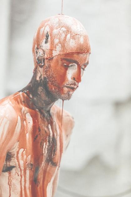 Orestie (une comédie organique?), mise en scène de Romeo Castellucci d'après Eschyle. Orestea 2015 © Guido Mencari Source: http://www.theatre-odeon.eu/fr/2015-2016/spectacles/orestie.