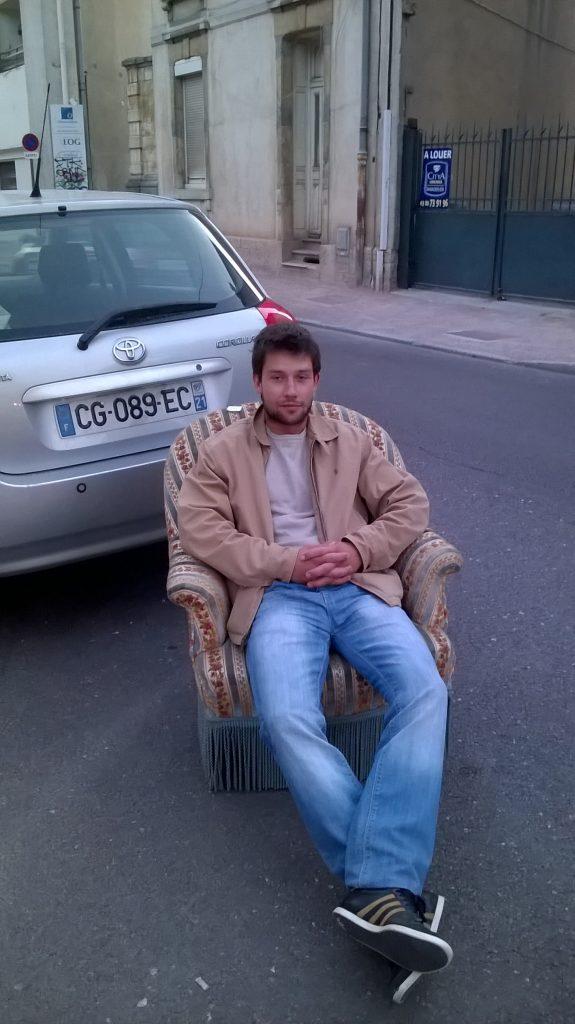 Maxime, à Dijon.