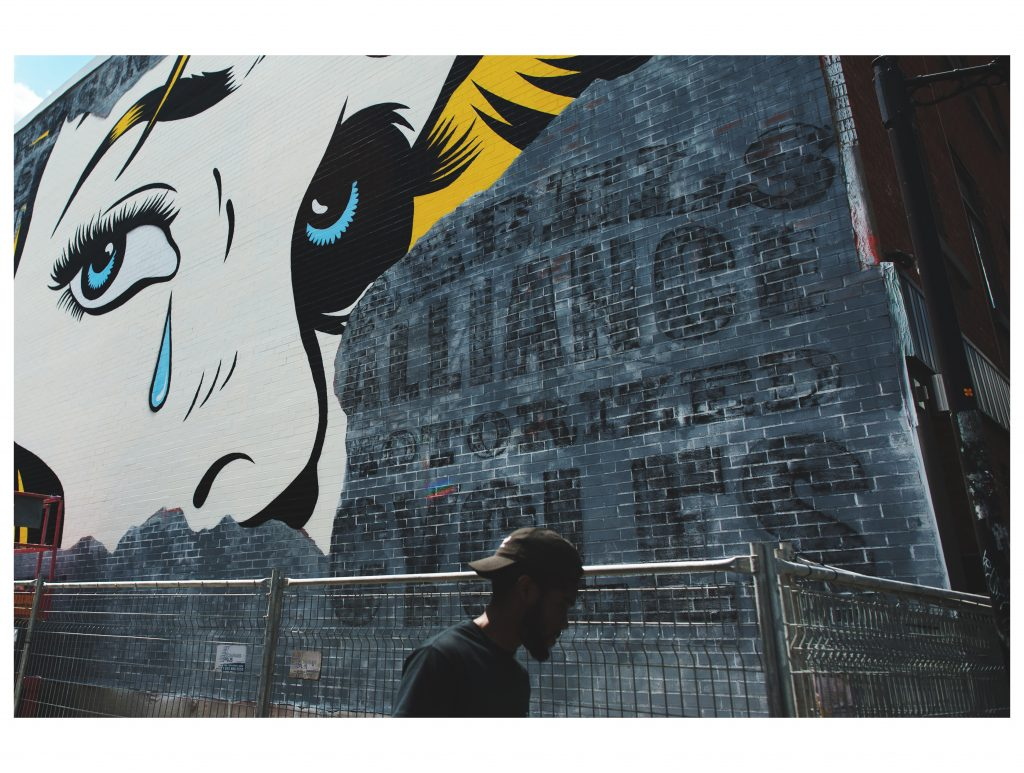 Festival art mural