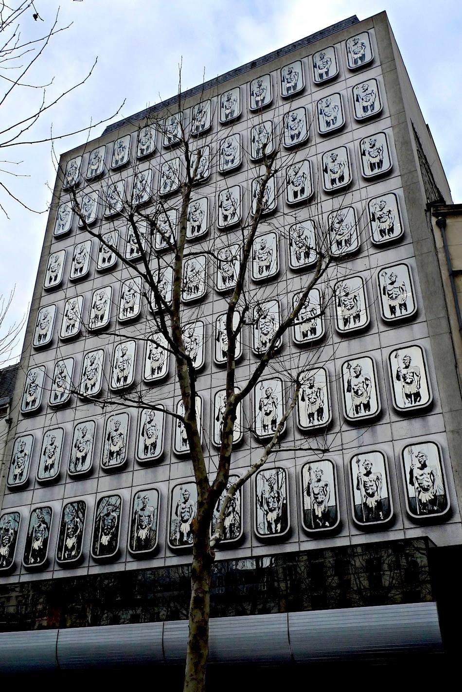 «Guerriers Bantus de la République», 2011, Paris © Arnaud Baumann