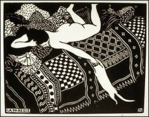 Félix Vallotton, La paresse, 1897