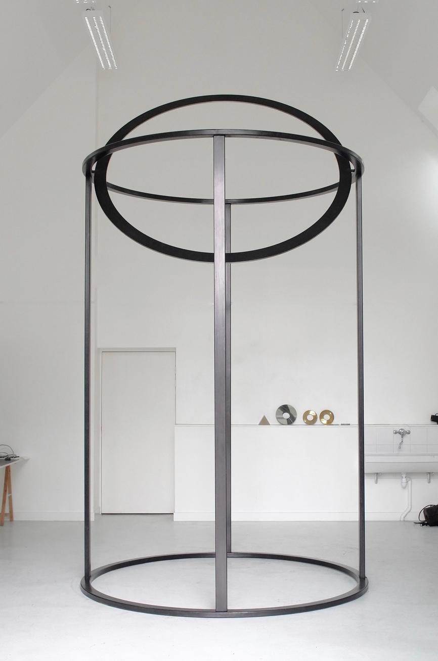For A Void, 2016 Acier / Steel 460 x 230 x 230 cm