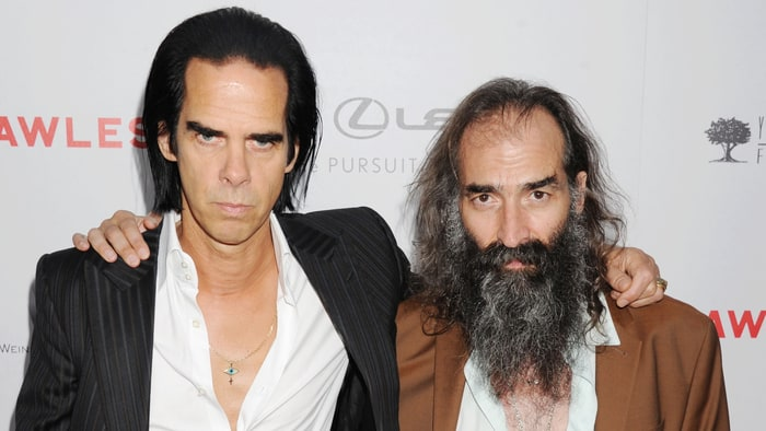Nick Cave & Warren Ellis (image rollingstones)