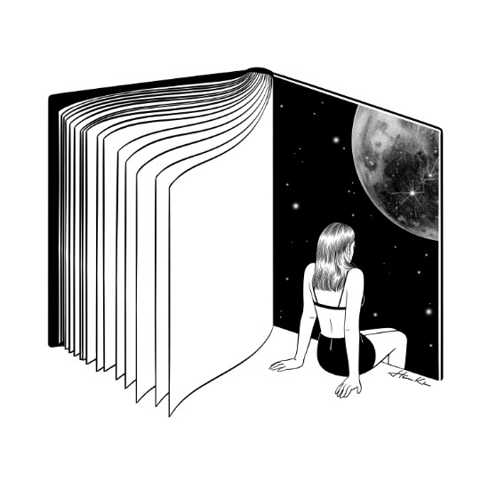 Reading is dreaming with your eyes open ©Henn Kim