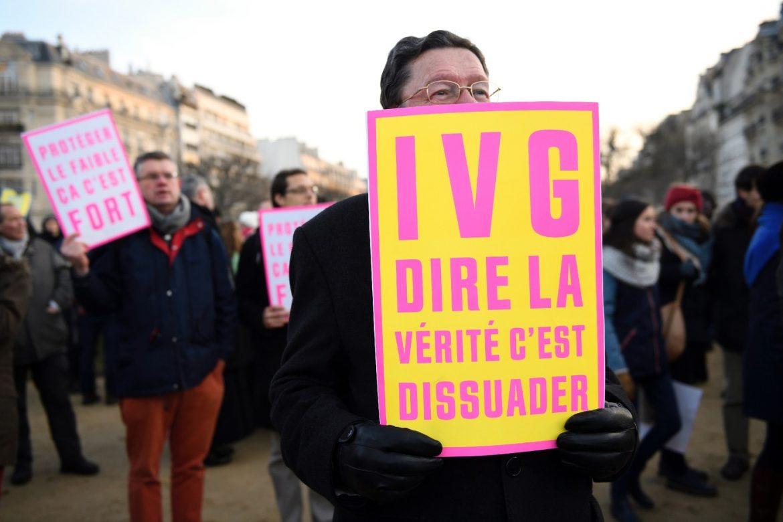 Manifestation anti-avortement