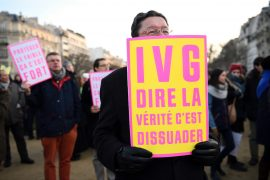 Manifestation anti-avortement