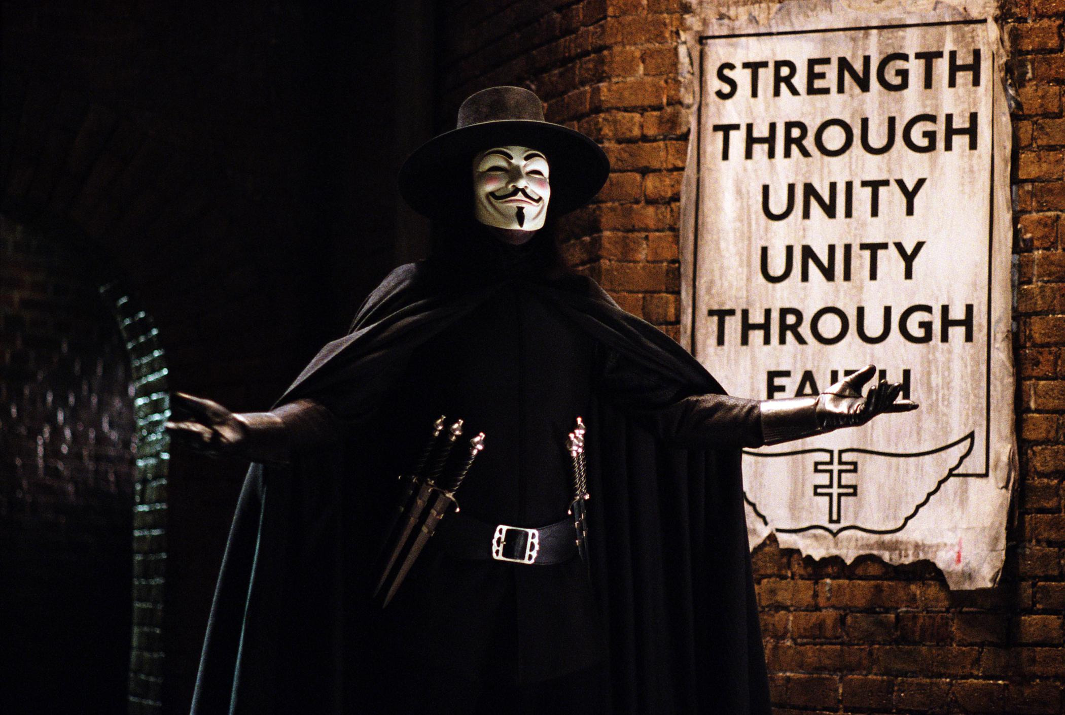Hack ta démocratie - James McTeigue, V for Vendetta, 2006 - Manifesto XXI