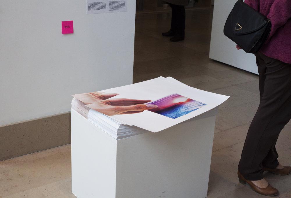 Sans titre (objets), 2015-2016, Placebo Landscape, installation 62ème Salon de Montrouge 2017 ©Hélène Bellenger