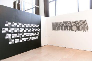 Marianne Mispelaëre, installation 62e Salon de Montrouge 2017 ©Starface Frederic Garcia