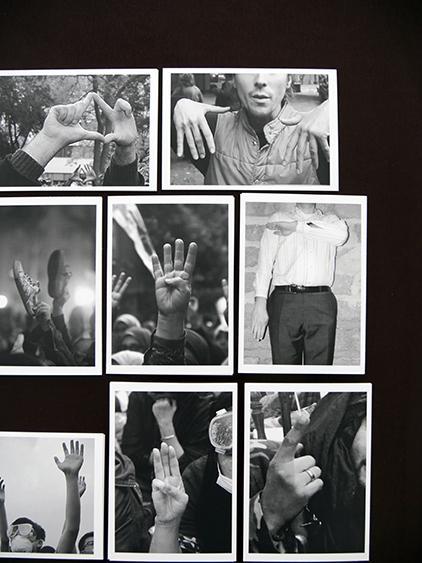 Silent Slogan, cartes postales, série de 21 captures d'écran, 2015 ©Marianne Mispelaëre