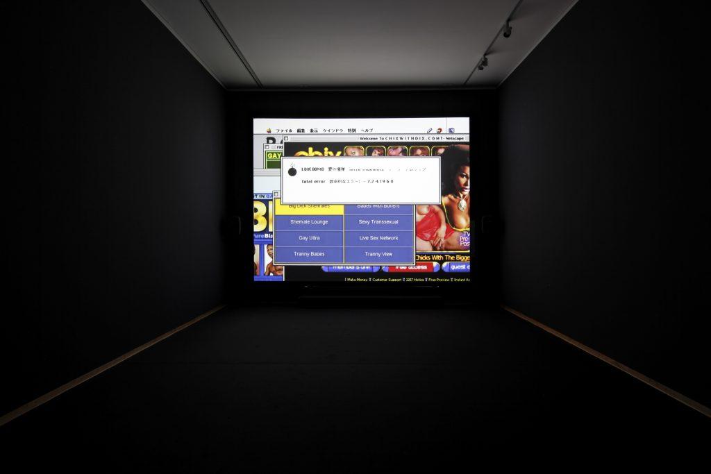 Terre Thaemlitz, Lovebomb/Ai No Bakudan, 2003–05, electroacoustic audio and video installation, Museum für Sepulkralkultur, Kassel, documenta 14, photo: Liz Eve