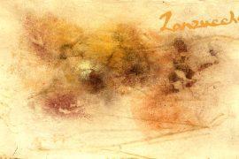 Pierre Zanzucchi, « Trace et lumière des simples », poussière végétale sur papier d'origine © Pierre Zanzucchi