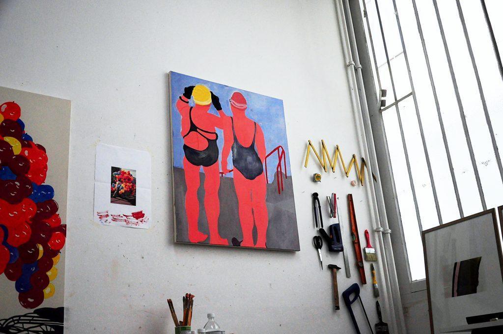 Atelier Elvire Caillon, Villa Belleville ©ManifestoXXI